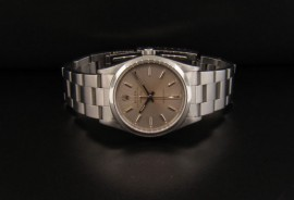 Silver Dial with Lum Stick Hour Markers